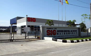 Industrial Gases Specialty Gas Bulk Liquid Southern Industrial Gas Sig